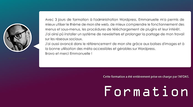 formation wordpress blois